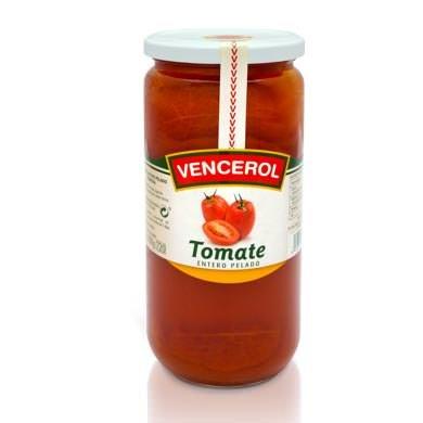 tomate entero pelado