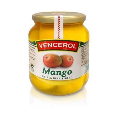 mango en almíbar
