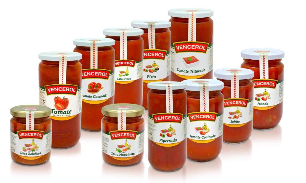 salsas de tomate